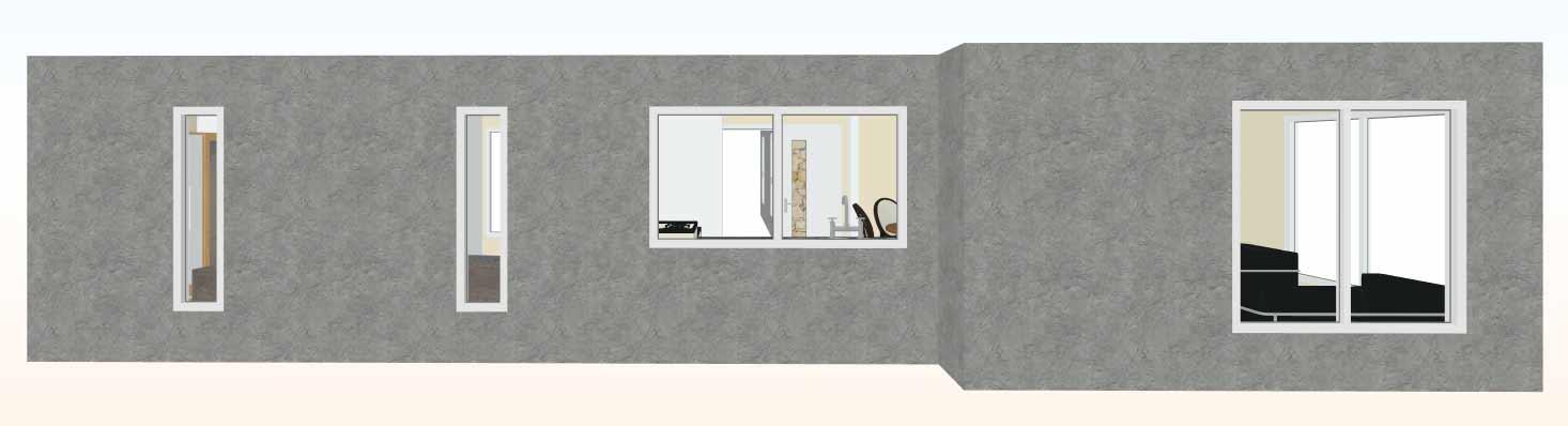 Vista-cocina-3d-Casa-prefabricada-mediterranea-83m2-con-cocina-americana