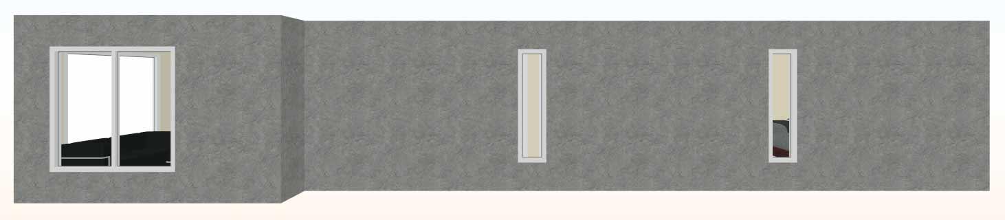 Vista-tracera-3d-Casa-prefabricada-mediterranea-83m2-con-cocina-americana