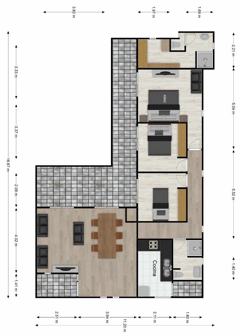 Planta-Casa-prefabricada-mediterranea-90m2-con-terraza