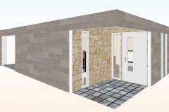 Acceso-3d-Casa-prefabricada-mediterranea-90m2-con-terraza