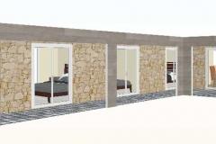 vista-terraza-3dCasa-prefabricada-mediterranea-90m2-con-terraza